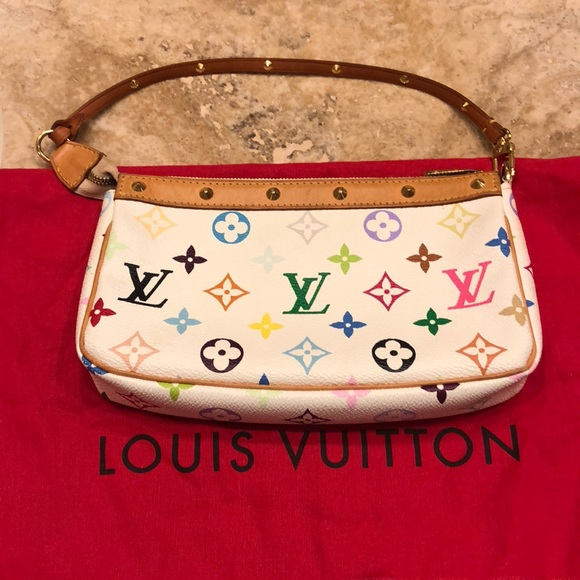 e093bd8e4625 Louis Vuitton Handbags - Louis Vuitton Takashi Murakami Pouchette